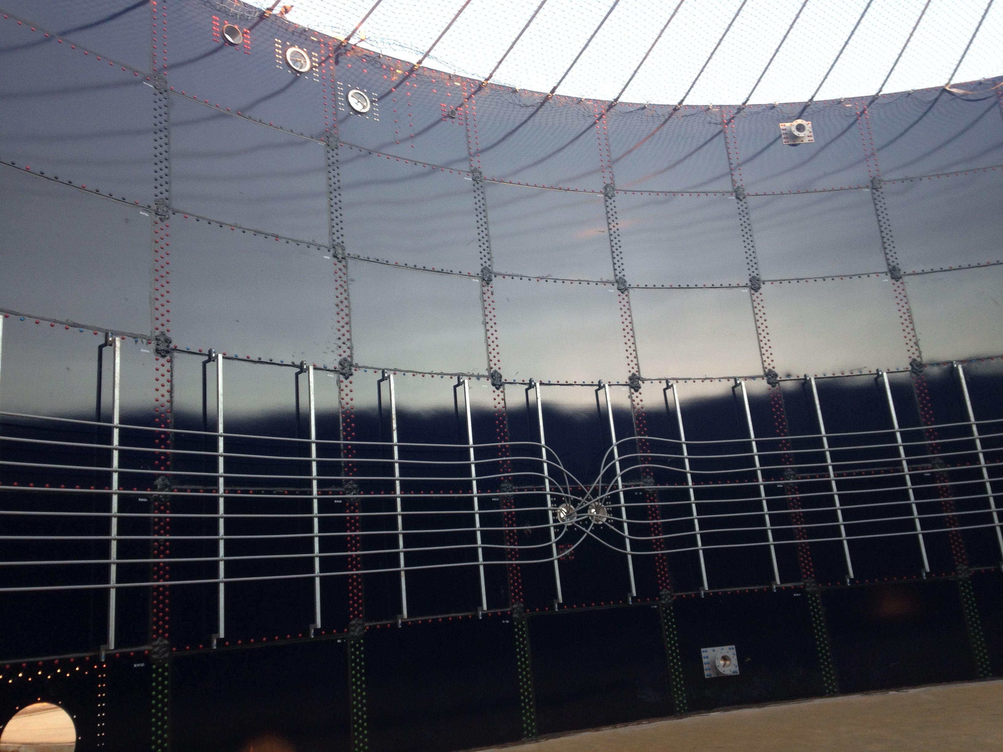Biogas-Plant-inside