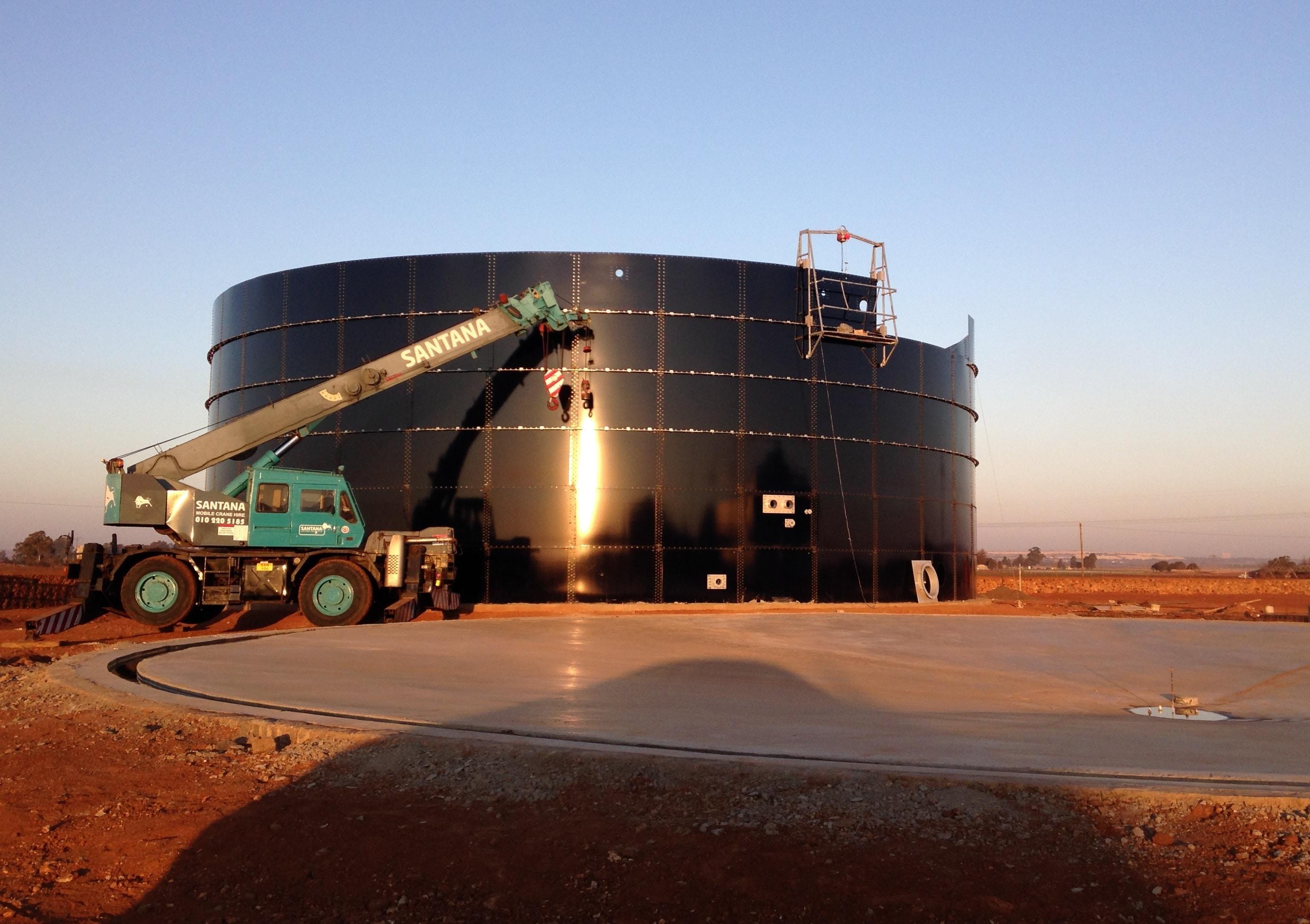 Biogas-plant