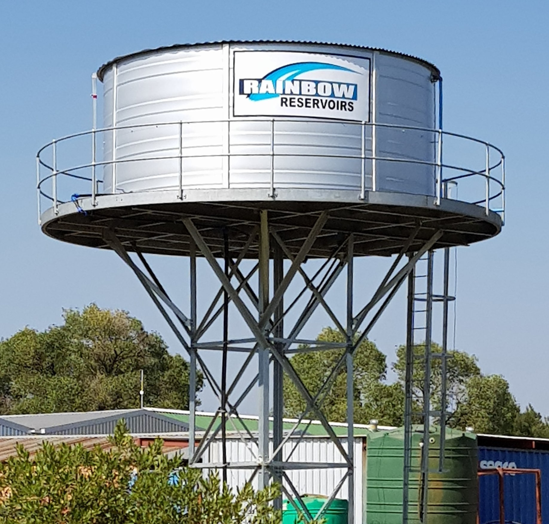 Elevated Water Tanks & Stands - by Rainbow Tanks