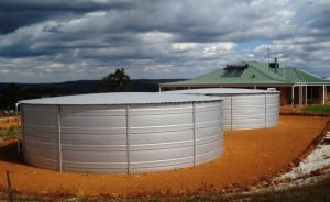Water Tanks supplied by Rainbow Reservoirs