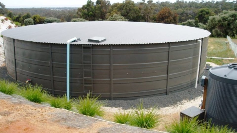 pressed steel sectional panel water tank
