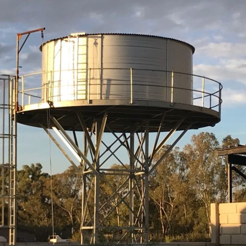 Elevated Water Tanks & Stands