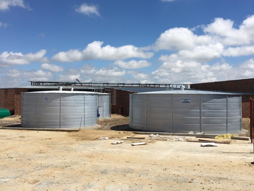 ASIB-approved fire water tanks