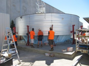 Water Tank Construction by Rainbow Reservoirs
