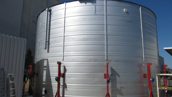bulk water storage harvesting
