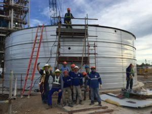 Water tank installation in the Philippines - 7