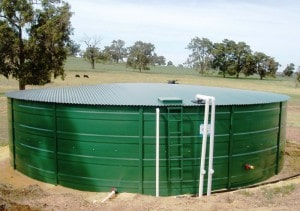 Agricultural Water tanks supplied by Rainbow Tanks